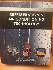 Refrigeration & Air conditioning technology seventh edition