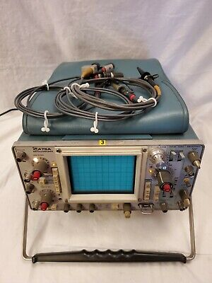 Tektronix 475a Dual Trace Dc To 250mhz Bandwidth Untested