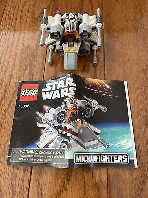 LEGO Star Wars Microfighters X-Wing Fighter (75032) Complete W/ Instructions