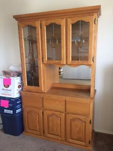 China cabinet - moving sale MUST GO!-