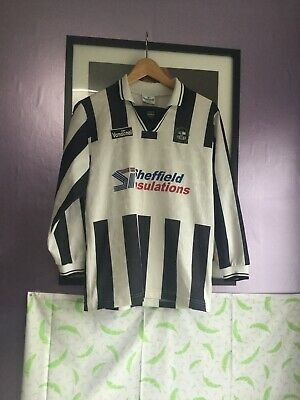vintage Retro Forest Green Rovers 1998/00 youth 11-12 long sleeve Shirt Vandanel image