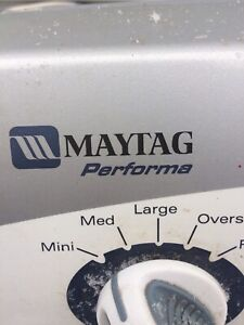 Maytag Performa Top Load Washer for Parts or Repair