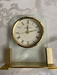 VTG !!!  HOWARD MILLER w/Alarm Desk Mantle Clock Model # 613573 (EUC)