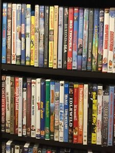 DVDs For Sale with full list of titles