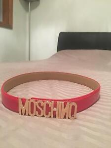 Moschino Belt RED Casula Liverpool Area Preview