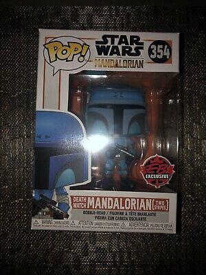 Funko Pop Star Wars The Mandalorian Death Watch Two Stripes Gamestop 354 IN HAND