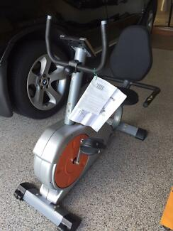 MAGNETIC RECUMBENT EXERCISE BIKE LCD HEART RATE Ormeau Gold Coast North Preview