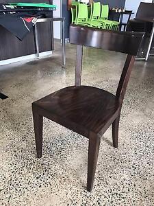 Dark Brown Wooden Cafe / Restaurant Dining Chairs - x36 Nundah Brisbane North East Preview