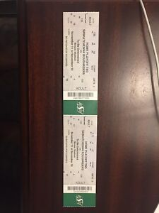 CFL Playoff Tickets (Great seats) Roughriders vs. Blue Bombers