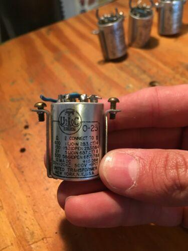 UTC O 25 Audio Transformer