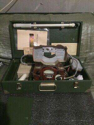 Original Soviet Russian Military Geiger Counter Detector Dosimeter Dp-5b