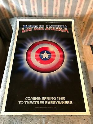 Captain America 1990 Orig. 1 Sheet Movie Poster 27
