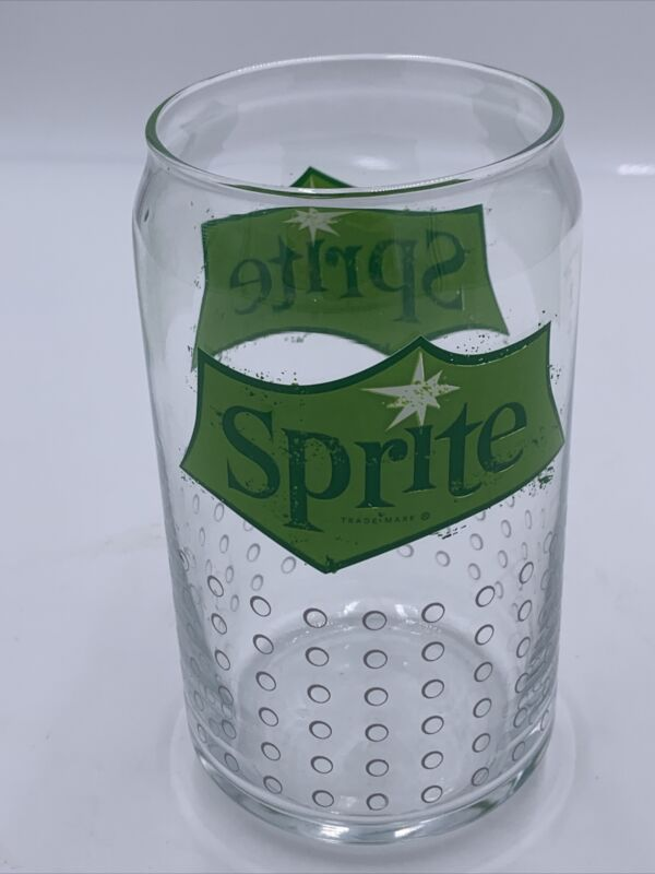 Vintage Sprite Drinking Glass Soda Pop