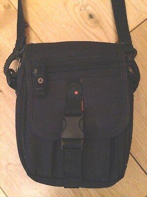 Man Bag ECGO Shoulder Messenger Black