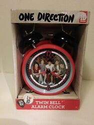 2013 One Direction Twin Bell Alarm Clock In Box Unused