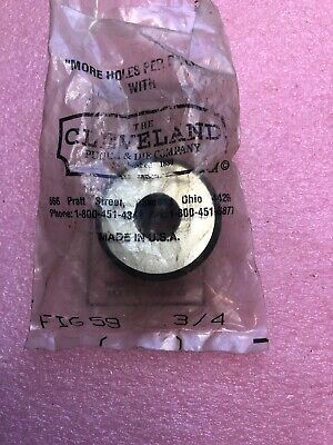 Cpd F-59 34 Cleveland Punch Die Round Die Fig59 Scotchman Ironworker Read