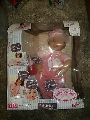 Zapf Creation Baby Annabell Deluxe 43cm Classic 43cm Doll (missing dummy)