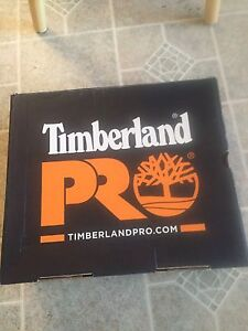 Timberland pro steal toe work boots