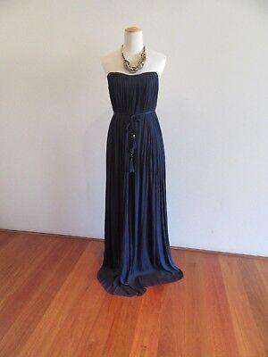 Camilla and Marc Azalea Dress   Navy   Grecian Godess Formal Strapless $600 - Greek Godess Dress