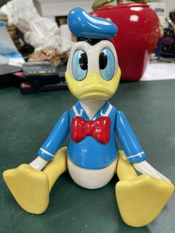Disney Donald Duck Schmid Music Box- NO CHIPS OR CRACKS- WORKS!