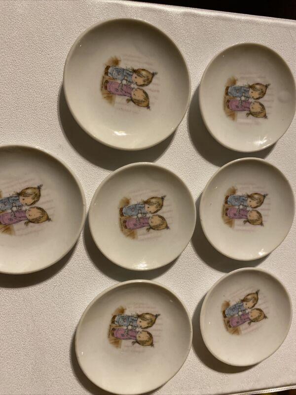 Betsey Clark Mini Dishes Hallmark 1976