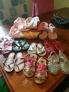 Little girl shoes and hats Caboolture Caboolture Area Preview