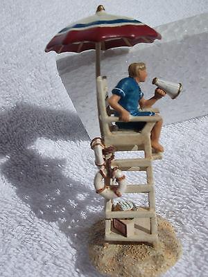 """Lifeguard on Duty"" Seasons Bay Dept 56 #53423 MIB"