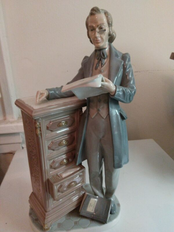 lladro figurines Mint 1983 Professor collection Lawyer Reading