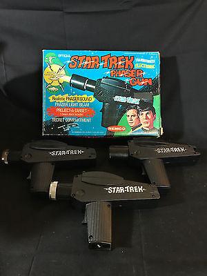 Old Vtg 1975 Remco Official Star Trek Phaser Toy Gun Guns In Original Box  - Phaser Gun