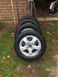 Artic Weathermate snow tires