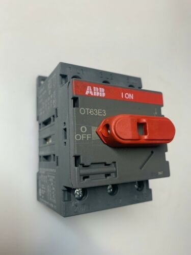 ABB OT63E3 3-Pole 80-Amp Panel Switch Disconnect