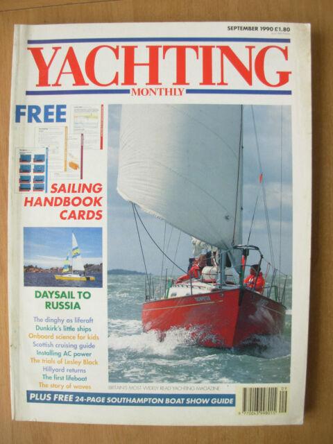 YACHTING MONTHLY MAGAZINE SEPTEMBER 1990 No 1009