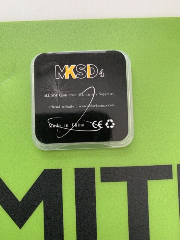 MKSD4 v1.31 For iOS 14.8 Perfect Fit For iPhone 6s-12 Pro Max With Clean IMEI.
