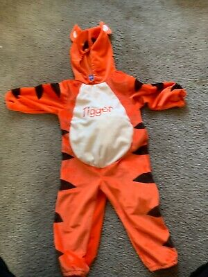 DISNEY Tigger Costume Baby 24 mom Winnie the Poohs Tiger Halloween Plushy Belly](Tiger Mom Halloween Costume)