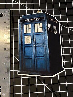 Doctor Who TARDIS time machine vinyl decal sticker
