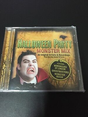 Halloween Party Monster Mix cd - Halloween Party Music Mix