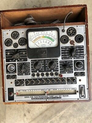 Precision Apparatus Series 920 Electronamic Tube And Set Tester