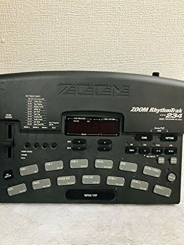 ZOOM RhythmTrak RT-234 Drum & Bass Machine 100-240v Power supply JAPAN USED