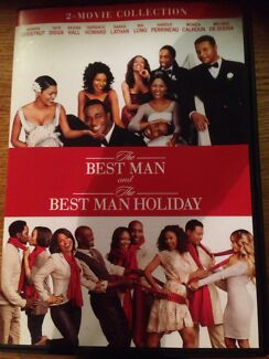 Brand New 2 DVD set - The Best Man & The Best Man Holiday Gulgong Mudgee Area Preview