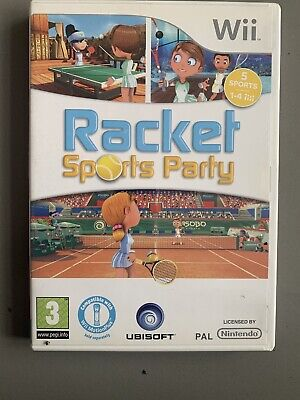 Racket Sports Party - Nintendo Wii Game - Ubisoft - With Instructions for sale  Shipping to Nigeria