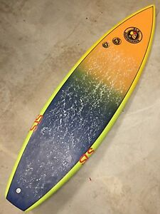 """5'11"""" SLS hand shaped surfboard Coorparoo Brisbane South East Preview"""