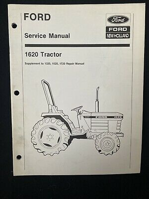 Ford New Holland 1620 Tractor Supplement 132015201720 Repair Manual 13911392