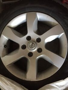 16 Inch Toyo Winter Tires and Nissan Factory Rims