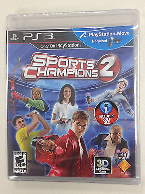 Sports Champions 2 Move (Sony Playstation 3) - PS3 Games! Sealed NEW! ()
