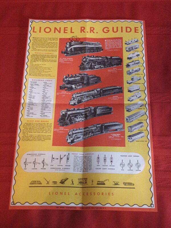 Lionel Railroad Guide