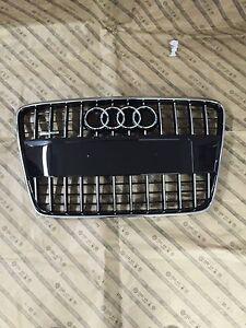 Original Audi Q7 Tuning Kühlergrill NEU OVP schwarz gänzend / Chrom