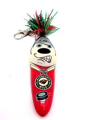 Kooky Klicker Pen Keychain (NHL Minnesota Wild Kooky Klicker Kollectible Pen Key Chain Clip Authentic)