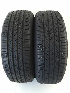 Two 235/65/R18 Allseason Continental ContiProContact -NearlyNew