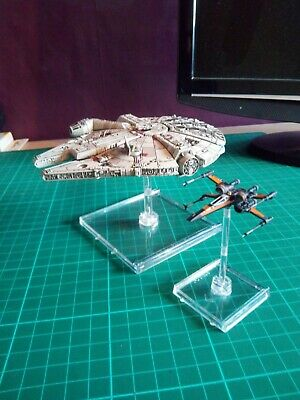 Star Wars X Wing Miniatures Heroes Of The Resistance, Resistance Bomber And HWK