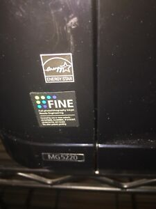 Like New Epson printer Mg 5220 with ink